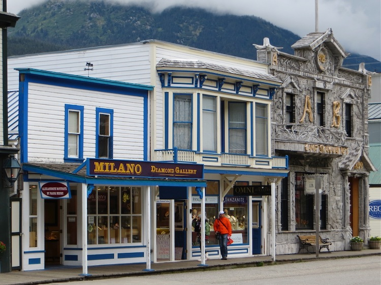 Downtown Skagway AK
