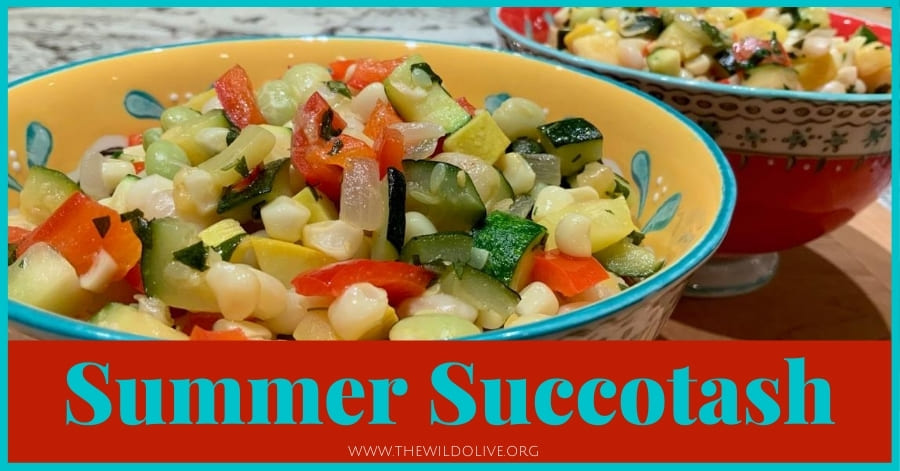 summer succotash - part of a summer recipe roundup