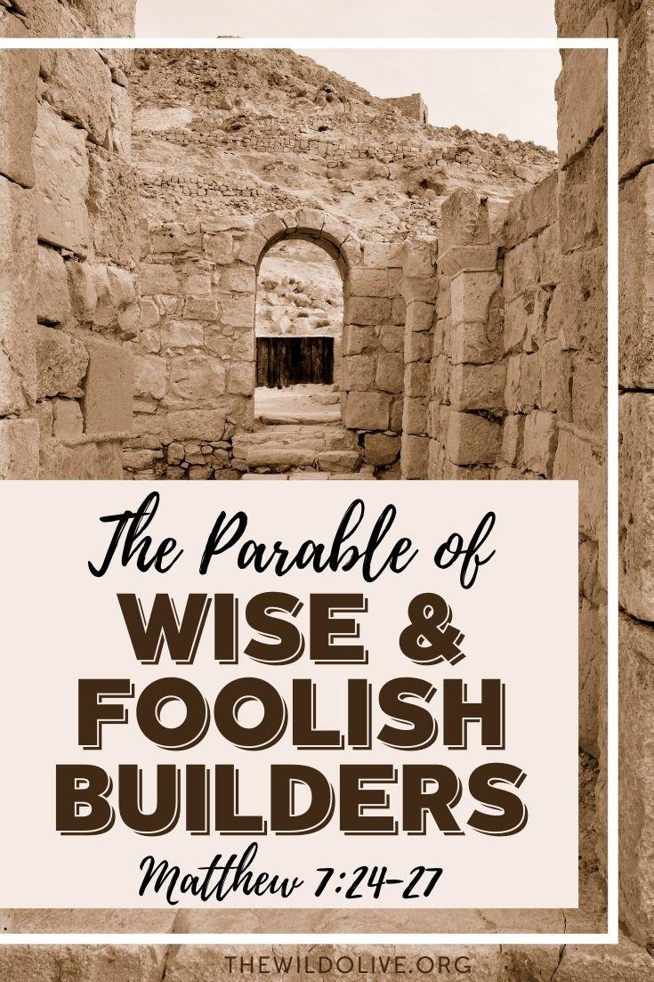 pinnable image for article on Matt 7:24-27